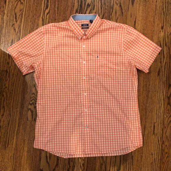 Izod Other - IZOD men's short sleeve shirt, XL - Orange
